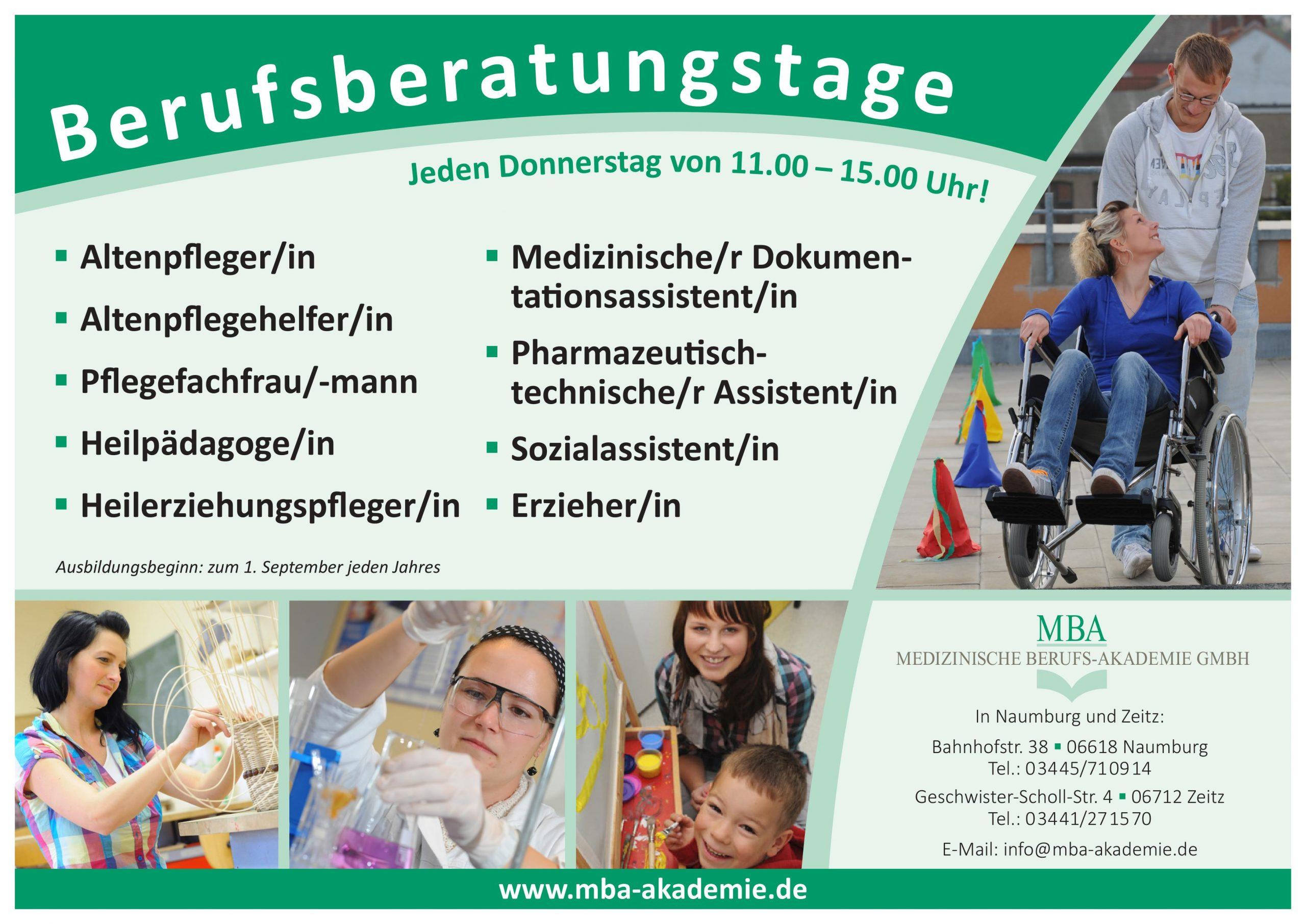 Berufsberatungstage MBA Naumburg